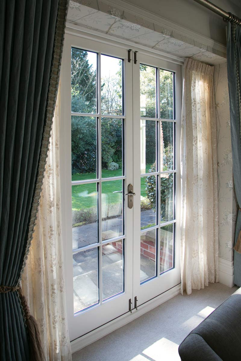 New hardwood french patio doors old english window company for Hardwood french doors